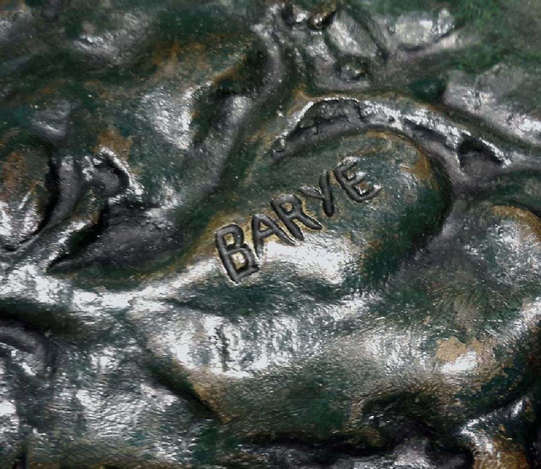 "Antoine-Louis Barye, ""Tiger Devouring a Gavial,"" Bronze - 6"