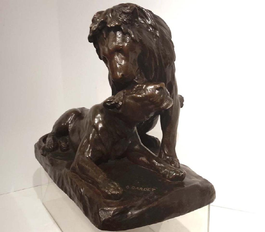 Georges Gardet (French, 1863-1939) Lion Et Lionne - 4