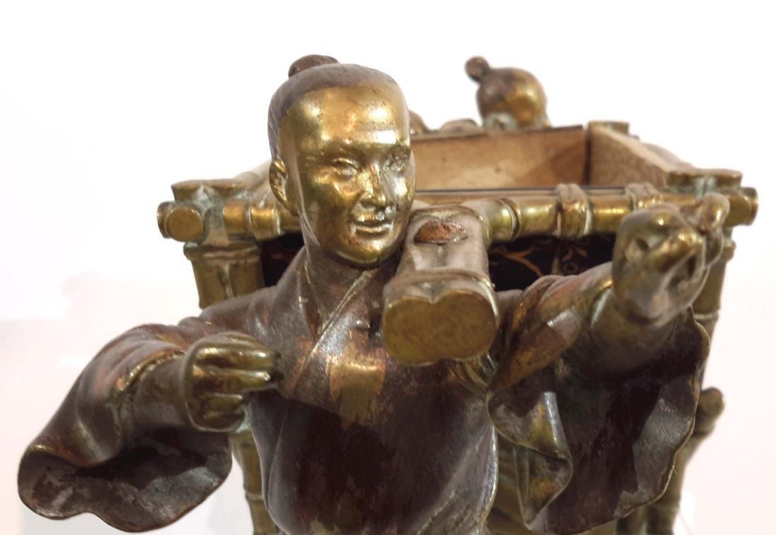 Japonisme Bronze Attributed to Maison Giroux 19C. - 6