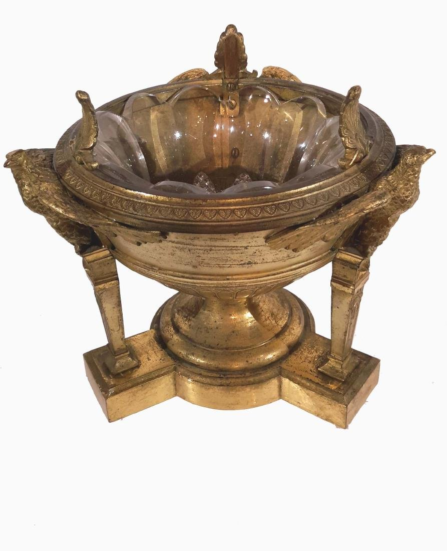Christofle & Cie, Gilt Bronze Center bowl, Circa 1900 - 2
