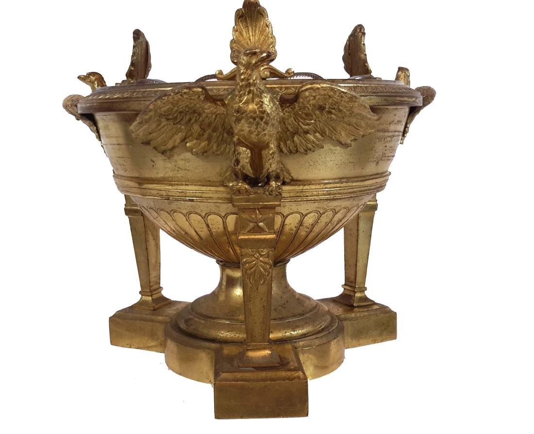 Christofle & Cie, Gilt Bronze Center bowl, Circa 1900 - 3