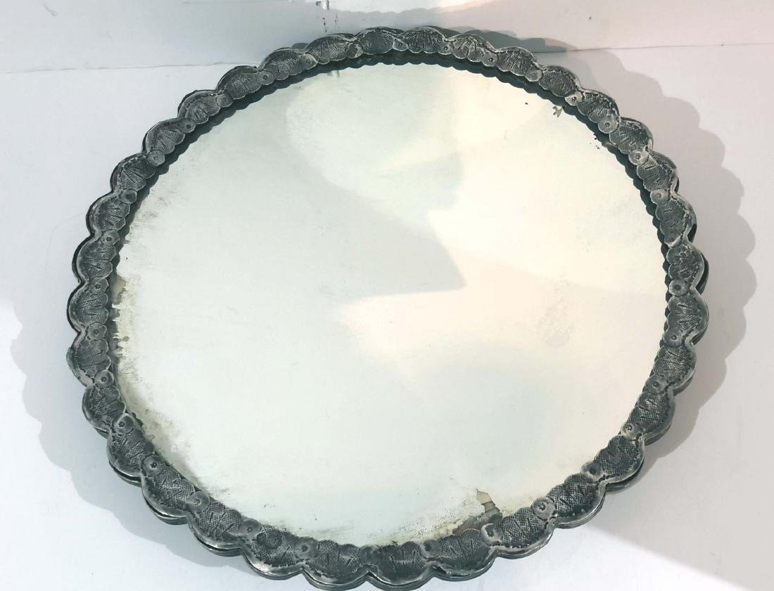Ottoman Silver Mirror, Turkey 19C. - 4