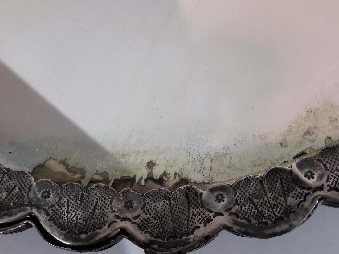 Ottoman Silver Mirror, Turkey 19C. - 6