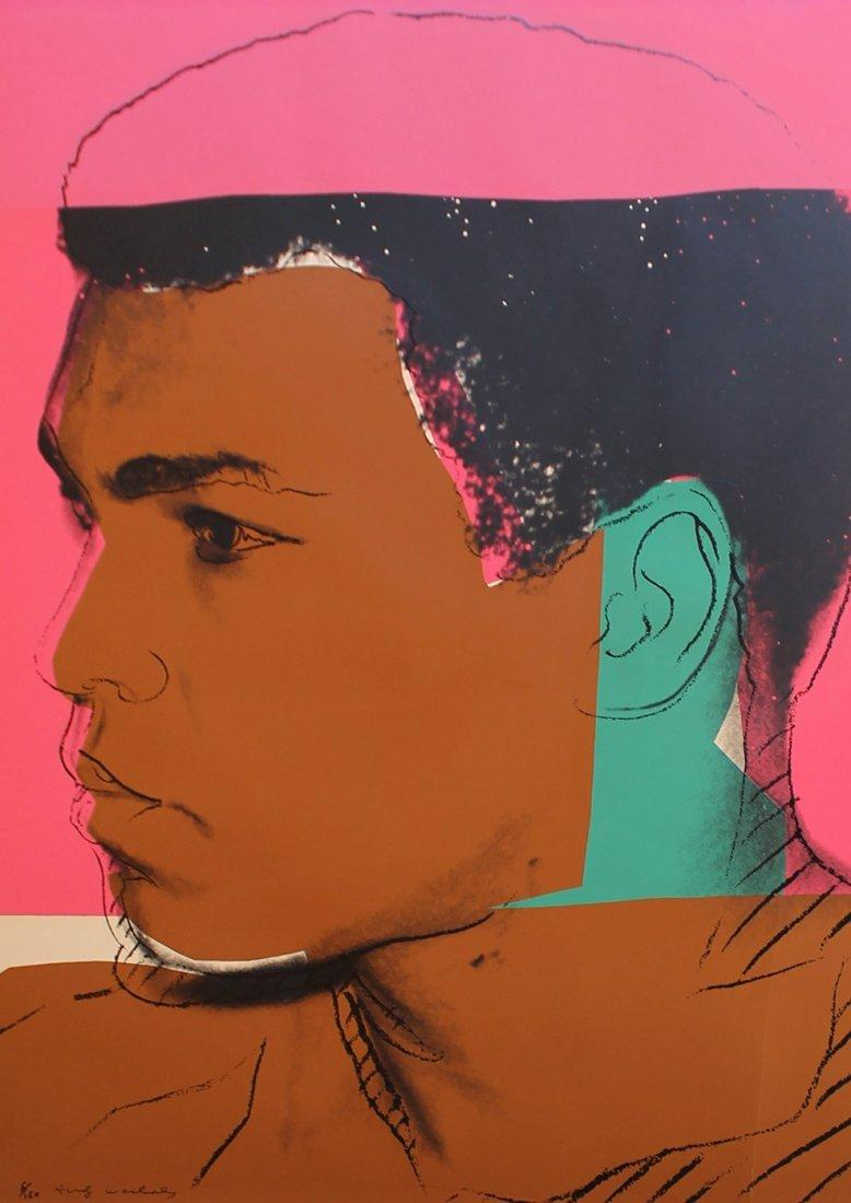 Muhammad Ali by Andy Warhol, Printed 78