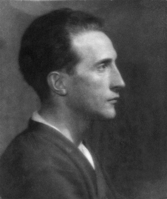 Portrait of Marcel Duchamp, C.1920: by May Ray