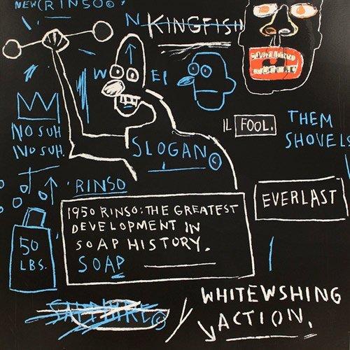Rinso, 1983: Printed 2001: Jean-Michel Basquiat