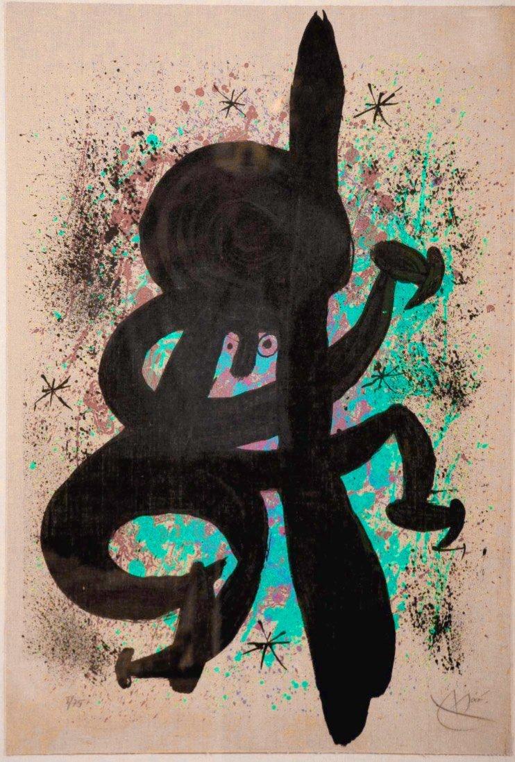 LEsquimau Febrile, printed 1969: Joan Miro
