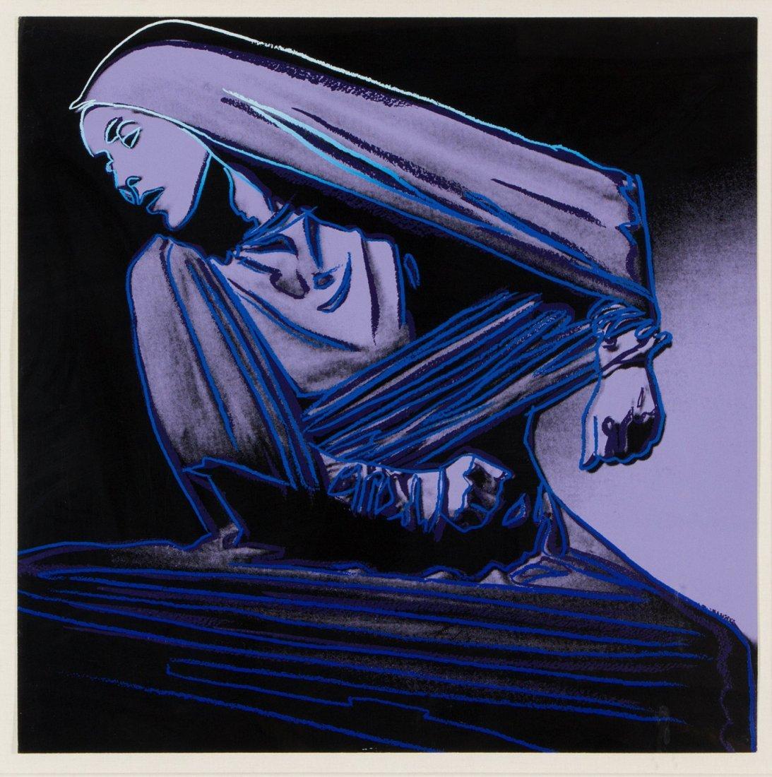 Lamentation by Andy Warhol: printed 1986