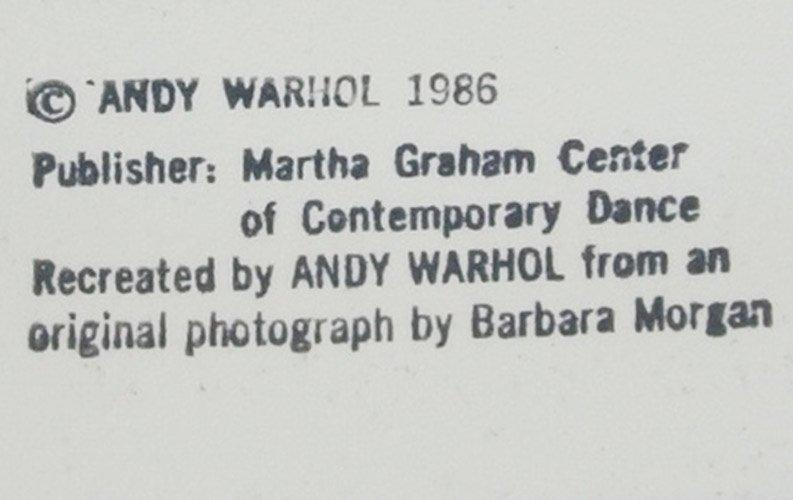 Lamentation by Andy Warhol: printed 1986 - 2