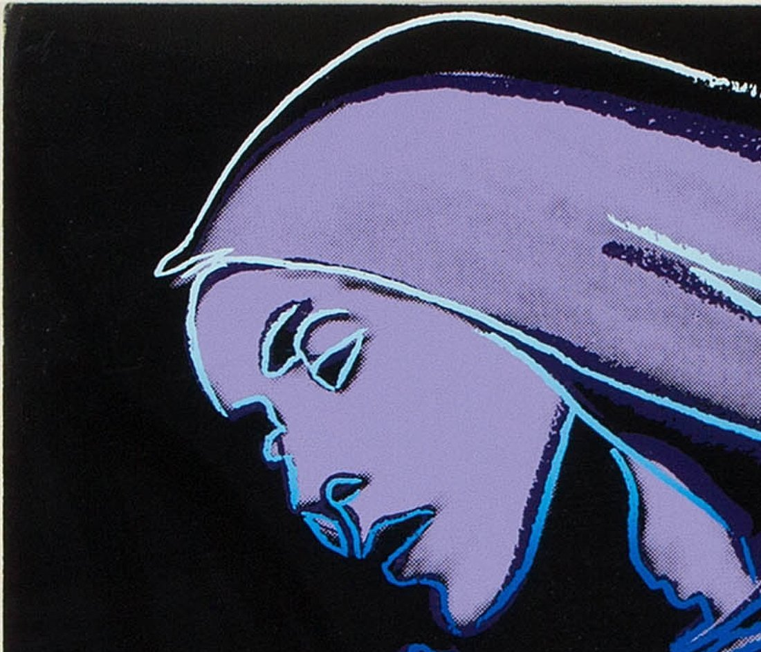 Lamentation by Andy Warhol: printed 1986 - 4