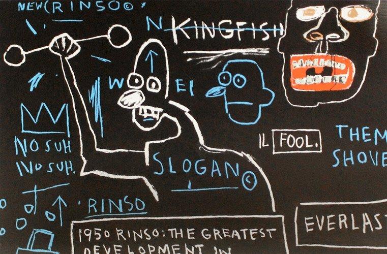Rinso, 1983: Printed 2001: Jean-Michel Basquiat - 2