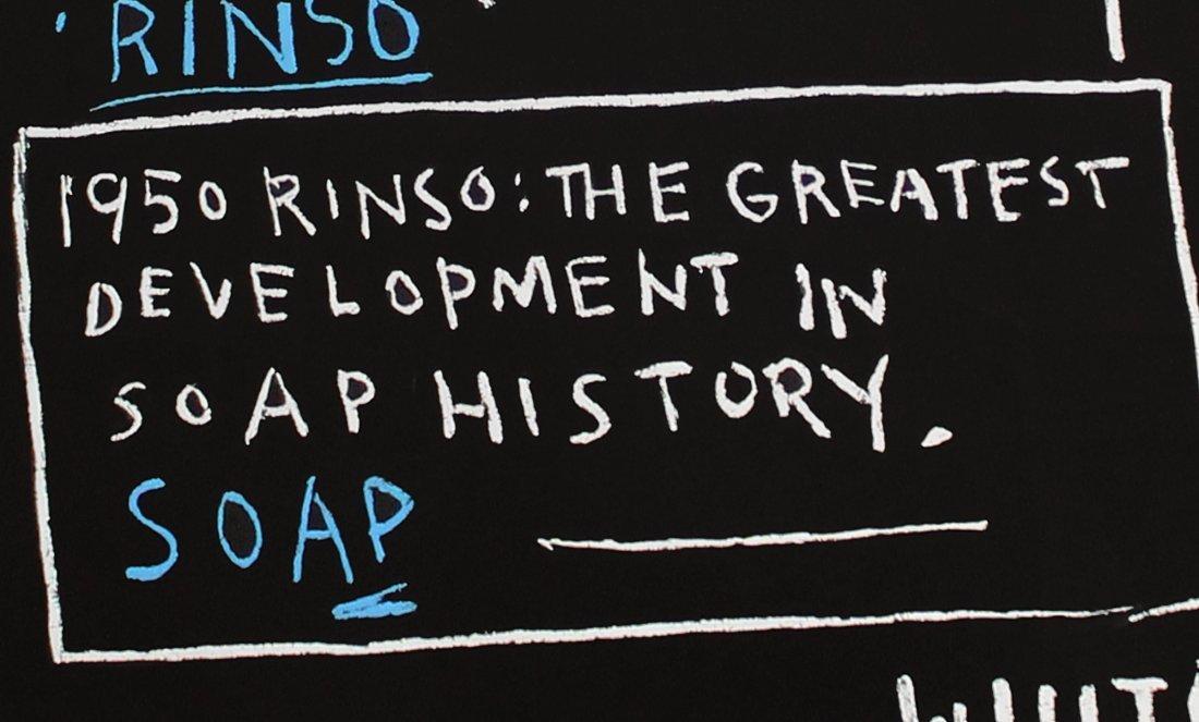 Rinso, 1983: Printed 2001: Jean-Michel Basquiat - 4