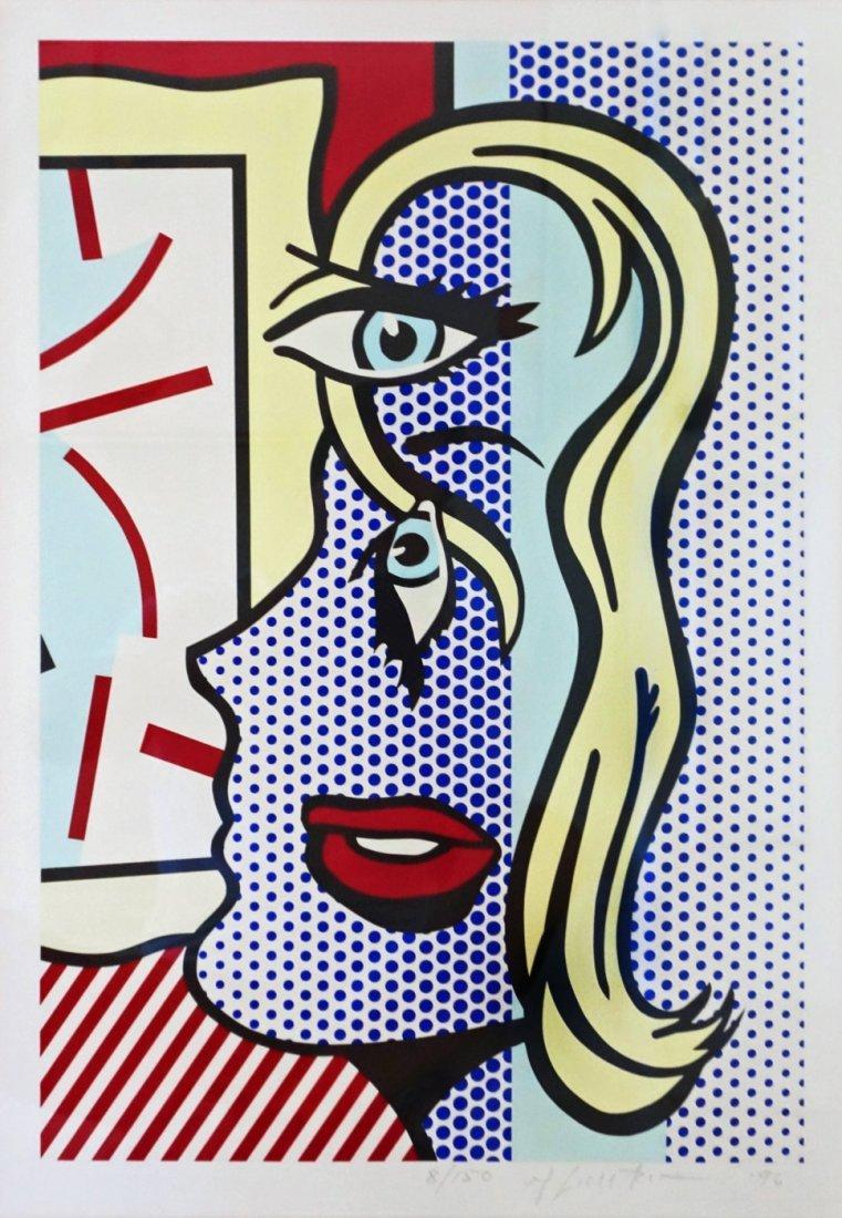 Art Critic by Roy Lichtenstein: printed 1996