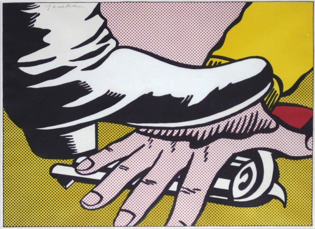 Foot and Hand by Roy Lichtenstein: Printed 1964