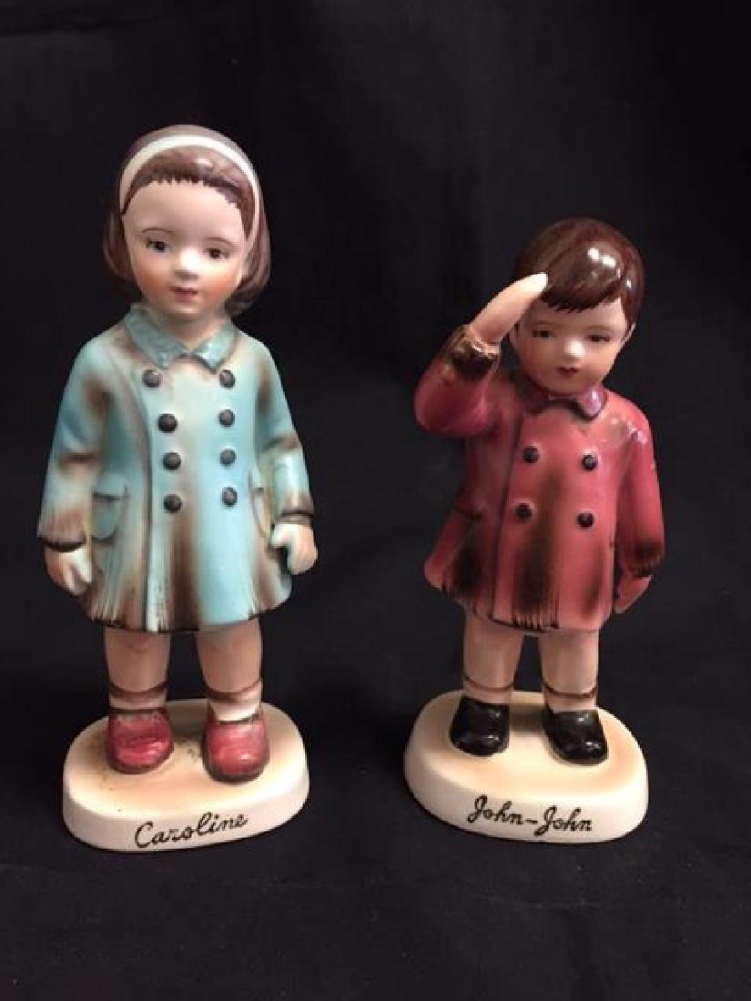 "Inarco Figures ""John John & Caroline Kennedy"""