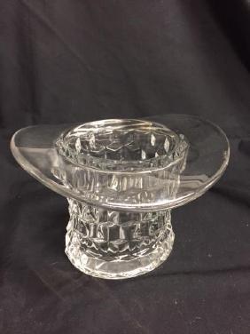 Glass Top Hat C-60's Fostoria Top Hat    MINT