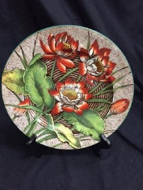 Wedgewood Water Lily Plate Etruria, England    Mint