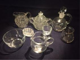 Misc Lot Glass & Crystal Pieces