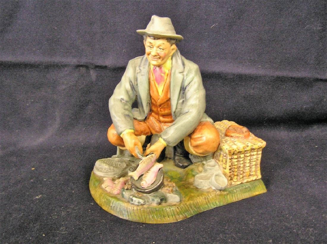 Man Cooking Fish Royale Doulton Pottery