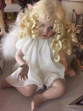 """Vintage Angel Kisses Doll """"Wings of Love"""" Georgetown"""