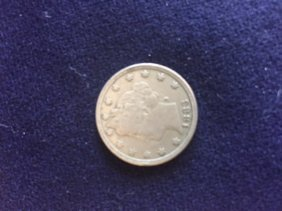 1883 Liberty Head Nickel W/O Cent VF