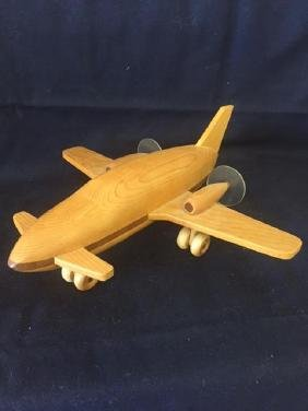 Vintage Handcrafted Wooden Plane Wood N Things No. 001