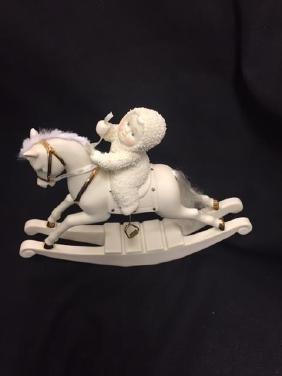 Snowbabie on Rocking Horse Dept 56