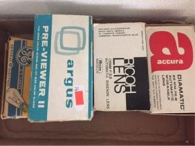 Box Lot Camera Lenses