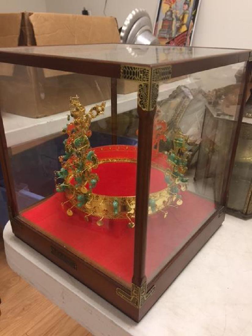 Gold Crown of Princess Kaya of South Korea Enclosed in