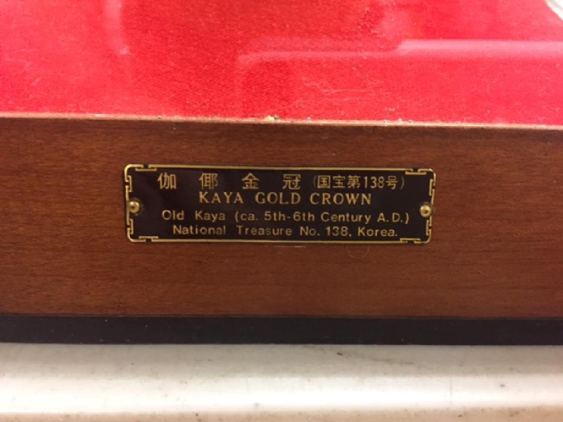 Gold Crown of Princess Kaya of South Korea Enclosed in - 2