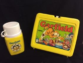 "Thermos - Vintage ""Garfield Lunch Box"""
