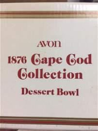 Avon Cape Cod 13pc Ruby Glass All in original boxes.
