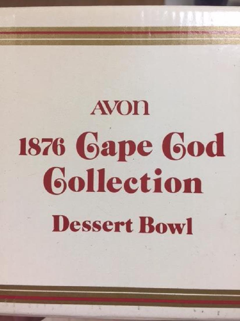 Avon Cape Cod 13pc Ruby Glass All in original boxes.