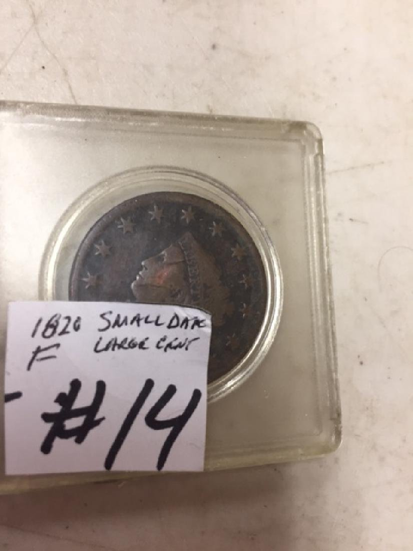 1820 Large Cent Small Date.