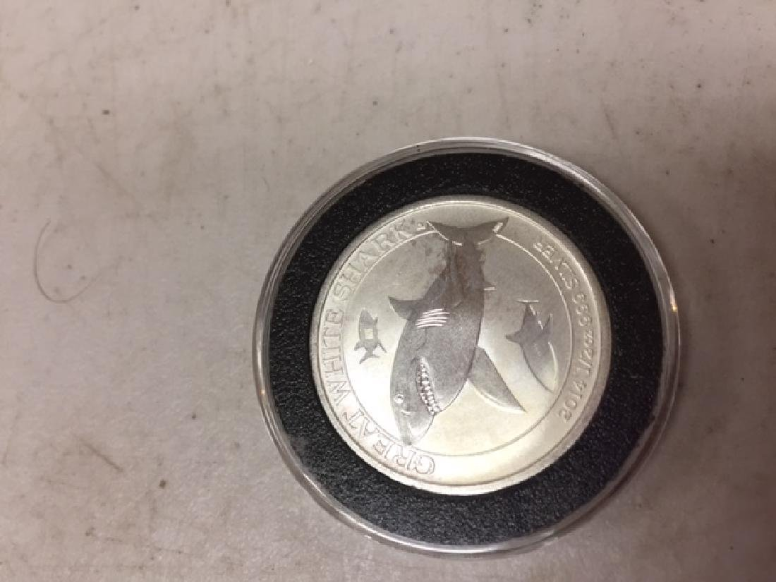 2014 Austrlian Silver Great White Half Dollar