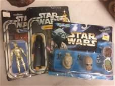 3 Star Wars Figurines