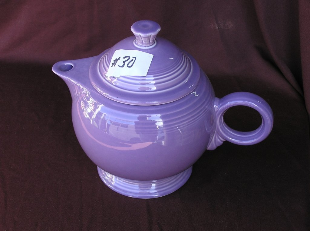 "Fiesta ""Lilac"" Teapot"
