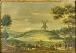 ESAIAS VAN DE VELDE. HIS CIRCLE. 18TH CENTURY.