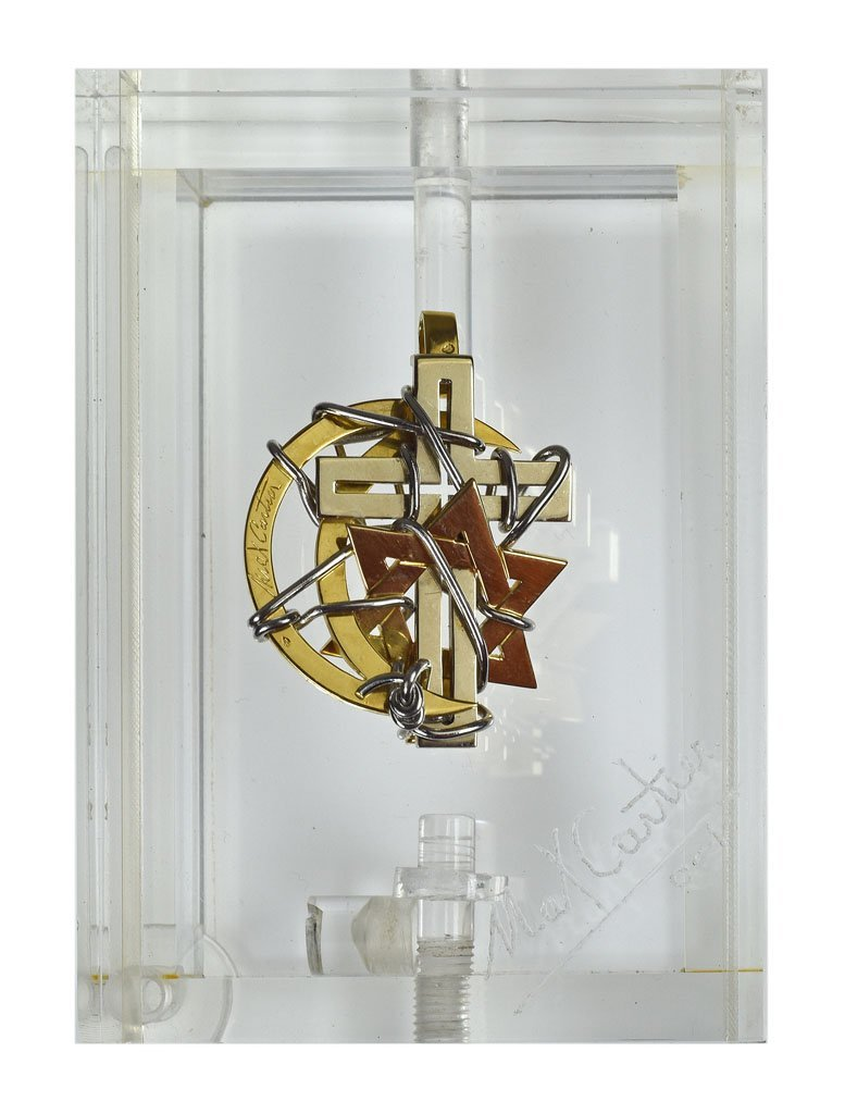 """Max Cartier - Bijoux-Sculpture """"Les 3 Religions """""""