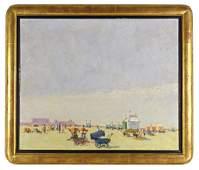 Frans Smeers (1873-1960) - Scènes de plage animées