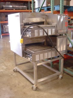 402: Lincoln Impinger Double Stack Electric Pizza Oven