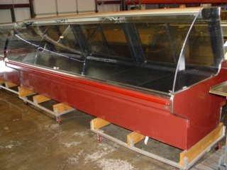 "406: Barker 146"" Curved Glass Display Case Model BMD-12"