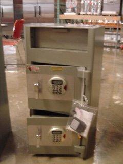 1: NEW 2-dr Frontloader Depository Safe