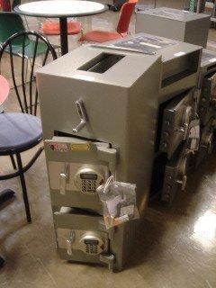 2: NEW 2-door Hopper Depository Safe