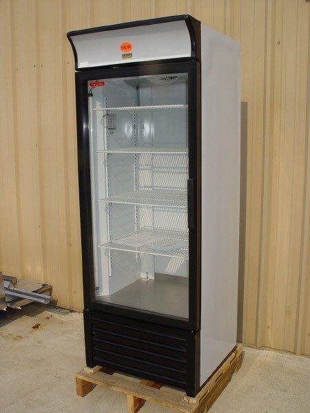5: NEW TOR REY 1-door Glass Cooler