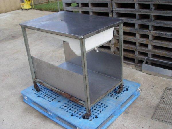 203: Belshaw Glazing Table