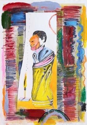 Menashe Kadishman (Israeli, 1932-2015) & Oded Feingersh