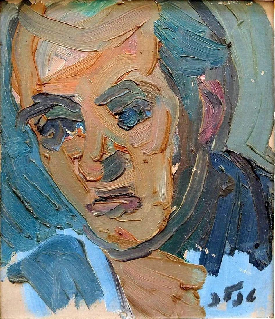 Shmuel Tepler (Israeli - Polish, 1918-1998)