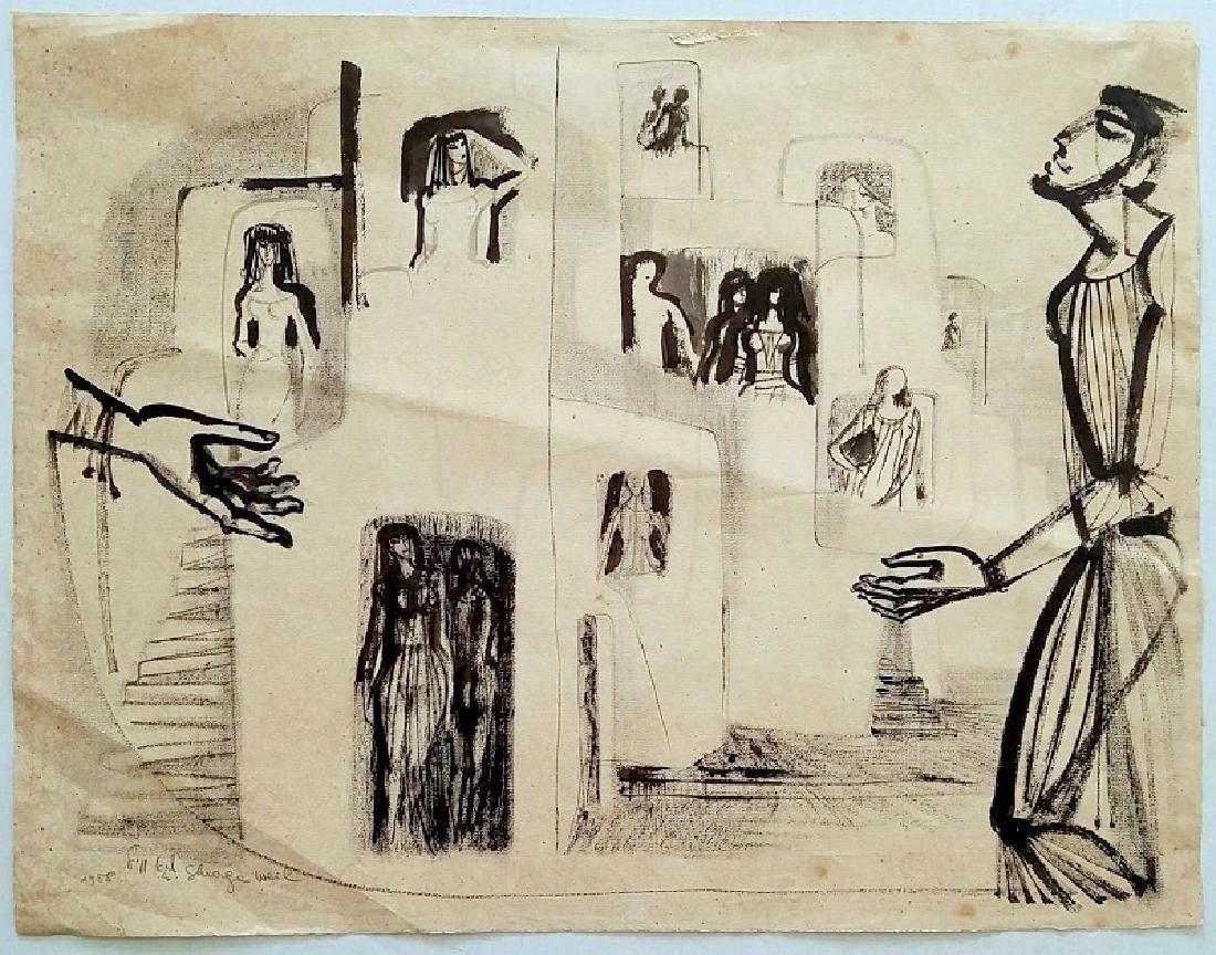 Shraga Weil (Israeli - Czech, 1918-2009) - 2
