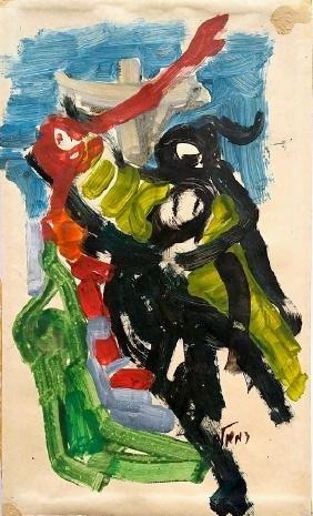 David Meshulam (Israeli - Bulgarian, 1930-1987)